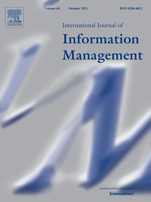 Autoři z FM VŠE publikovali článek v prestižním časopise International Journal of Information Management
